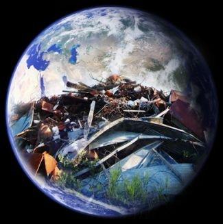 Erde Müll